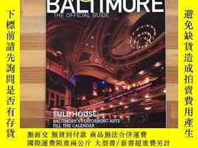 二手書博民逛書店美國深度遊:巴爾的摩城官方導覽手冊·旅行必備Visit罕見Baltimore: The Official Guid