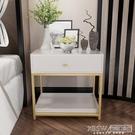 床頭櫃床頭櫃簡約現代床邊小櫃子北歐臥室多功能儲物收納櫃沙發邊桌酒店CY『新佰數位屋』
