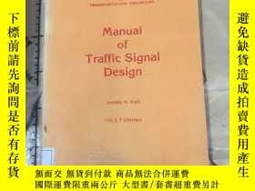 二手書博民逛書店Manual罕見of Traffic Signal Design