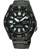 SEIKO 精工 強悍戰士DIVER'S 200m 機械手錶-IP黑 7S36-04P0SD