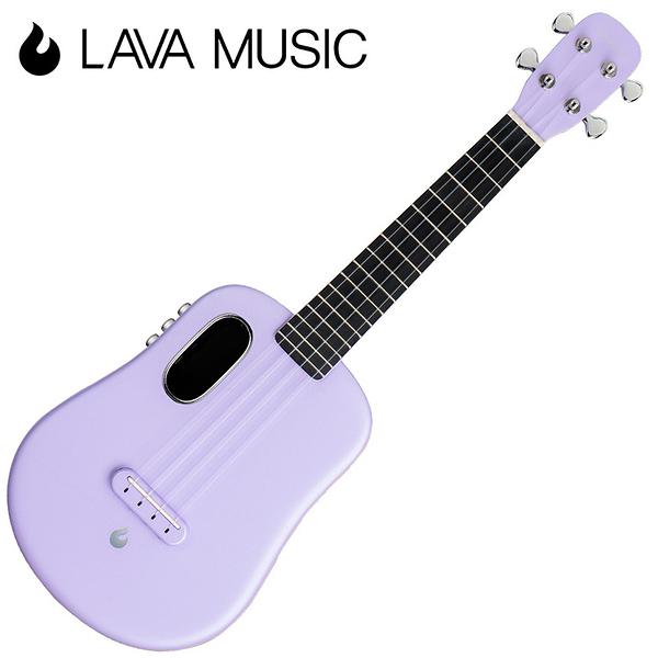 LAVA U 拿火烏克麗麗-23吋/L2 mini /Free Boost/碳纖維材質/插電加震款/粉紫色