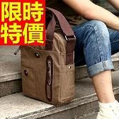 手提包(小)-帥氣輕便環保可肩背男帆布包4色59j2【巴黎精品】