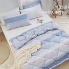 《DUYAN竹漾》雙溫感石墨烯天絲四季被-濱海輕風 台灣製