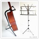 琴譜架 吉他架立式單頭展示架吉他架琴譜架樂譜架可升降折疊套裝 CP2356【甜心小妮童裝】