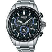 【僾瑪精品】SEIKO 精工 ASTRON GPS 衛星鈦金屬電波時尚腕錶/45mm/8X53-0AS0D(SSE101J1)