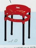 【石川傢居】YU 416 10 A 塑鋼紅面中洞椅不含  台北到高雄 車趟免運