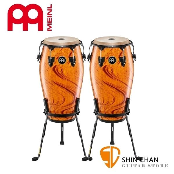 Meinl 暹羅橡木 康加鼓 一組二顆/附贈鼓架 Amber Flame Conga 顏色:琥珀火焰