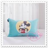 ♥小花花日本精品♥ Hello Kitty Disney迪士尼米妮水洗麗絲絨中童枕枕頭睡枕粉色Q版圖 12340507