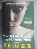 【書寶二手書T5/原文小說_HOC】The Girl Who Kicked the Hornet's Nest_Stie