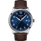 TISSOT天梭 T1164101604700 經典時尚 石英錶 藍/42mm