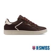 K-SWISS Clean Court II CMF P時尚運動鞋-男-咖啡
