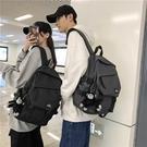 後背包 韓版原宿ulzzang2021新款背包ins書包男高中大學生潮流CP雙肩包女 交換禮物