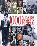 二手書博民逛書店 《1000 Years of Famous People》 R2Y ISBN:0753407698