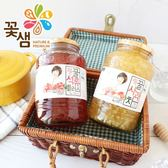 韓國 花泉 蜂蜜微果肉水果茶 1kg 蜂蜜蘋果茶 蜂蜜石榴茶 果醬 水果茶 沖泡 沖泡飲品