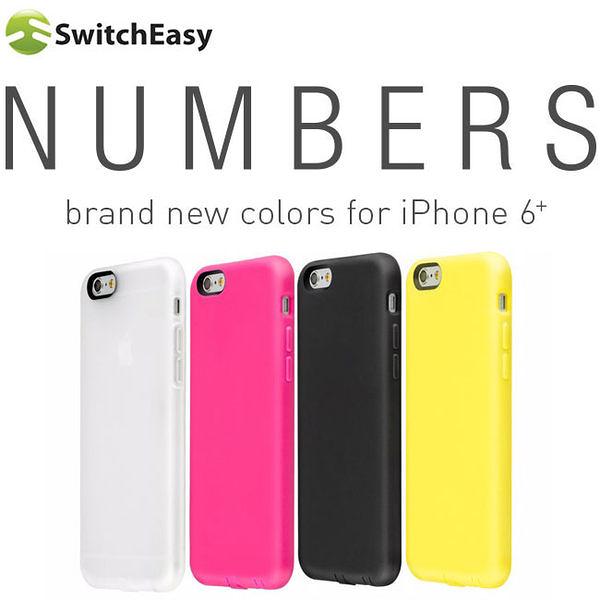 【東西商店】SwitchEasy Numbers iPhone 6 Plus 多彩特色保護套