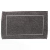HOLA 葡萄牙純棉毛巾踏墊50x80cm 鐵灰