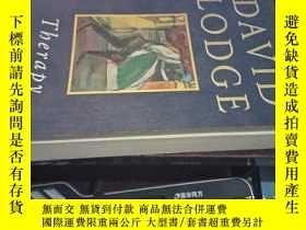 二手書博民逛書店THERAPY-A罕見NOVEL(治療-一本小說,英文原版)Y1