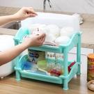 廚房大號塑膠碗櫃帶蓋箱碗架瀝水架餐具放碗碟架置物架杯架LX 夏季上新