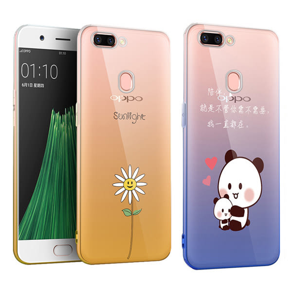 OPPO R15 R15 Pro R11s Plus R11s R11 R9s R9s Plus 漸變彩繪殼 手機殼 保護殼 全包邊 軟殼