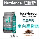 Nutrience紐崔斯〔INFUSION天然室內貓糧,5kg,加拿大製〕