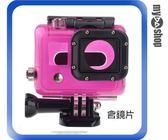【3件任選88折】Gopro Hero 3 側面開孔保護殼 保護套 相機保護罩 含鏡片 紅(83-0033)