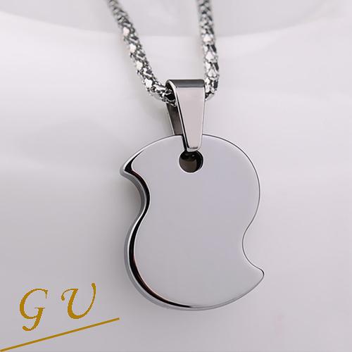 【GU】W46 女友生日禮物小雞動物鎢鋼西德鋼鍊鈦鋼GresUnic Agloce小鳥烏玄項鍊