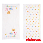 MIKI HOUSE BABY 日本製 可愛動物紗布澡巾 2枚入
