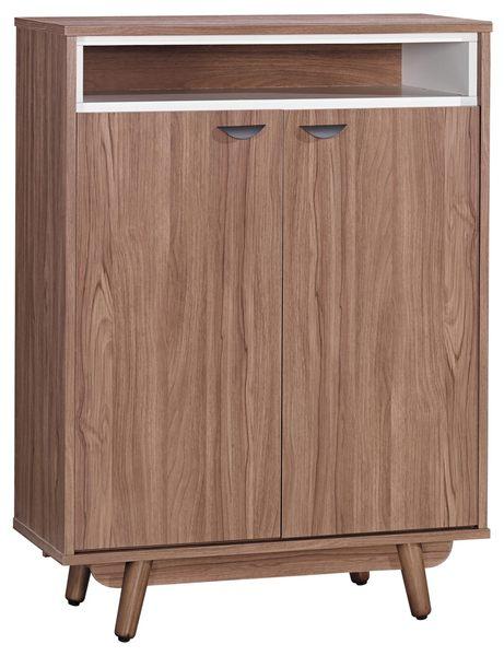 【森可家居】蘿拉3尺柚木鞋櫃 7JX268-3 木紋質感 日系無印風 北歐