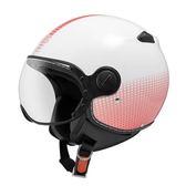 【東門城】ZEUS ZS210C DD82 白粉 3/4罩安全帽