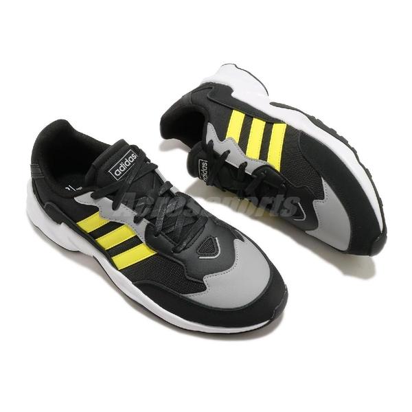 【六折特賣】adidas 慢跑鞋 20-20 FX 黑 黃 男鞋 緩震 透氣 低筒 運動鞋 【ACS】 EH0548