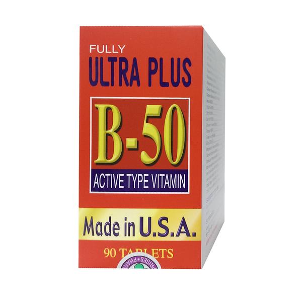 福滿佳維他卓 B50 Fully Plus B50 90錠裝 ~一天只需一粒