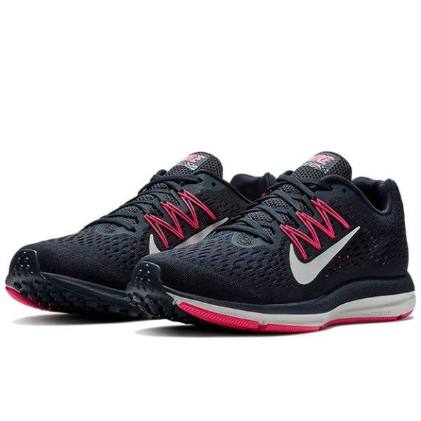 Nike Zoom Winflo 5  女款運動氣墊緩震透氣耐磨慢跑鞋