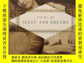 二手書博民逛書店Poems罕見Of Sleep And Dreams (布面精裝