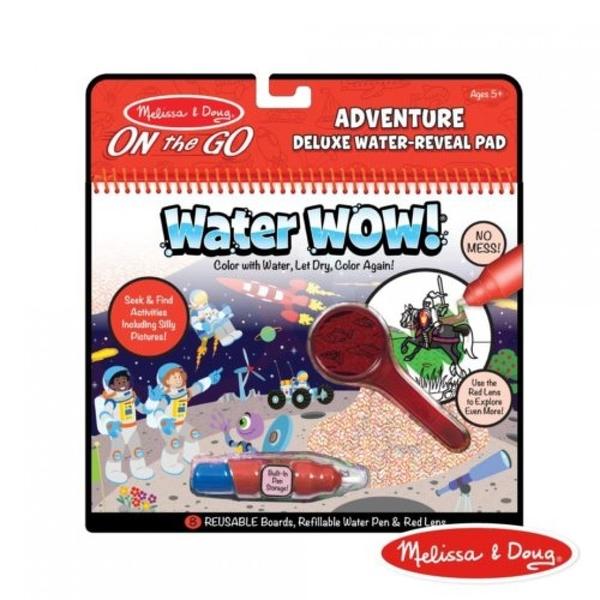 《 美國 Melissa & Doug 》旅遊樂-神奇遊戲書水畫冊 2.0 升級版, 豪華款冒險家 / JOYBUS歡樂寶貝