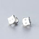 耳環 925純銀(耳針式)-小貓造型生日情人節禮物女飾品73ds55【時尚巴黎】