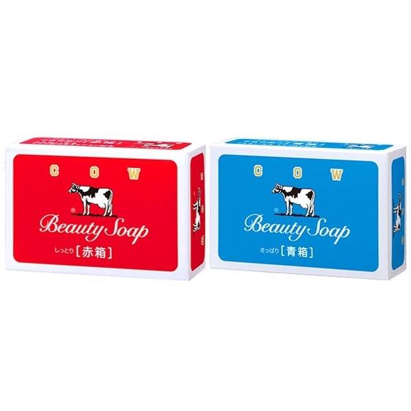 牛乳石鹼 COW 牛乳香皂(1入) 玫瑰滋潤型/茉莉清爽型 兩款可選【小三美日】