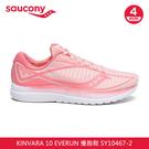 saucony 女 KINVARA 10 慢跑鞋SY10467-2【玫瑰粉】 / 城市綠洲 (跑鞋、運動鞋、EVERUN)