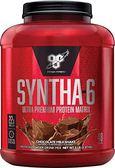 BSN Syntha-6 勁量低脂複合乳清蛋白5磅(巧克力) 公司貨