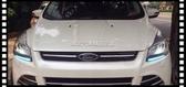 【車王小舖】福特 Ford Kuga 導光版 電鍍銀外框 日行燈 晝行燈 冰藍版