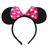 【Miss Sugar】兒童 頭飾 道具 米老鼠 耳朵 蝴蝶結 髮箍-無現色將隨機出貨【K4005679】