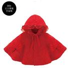 新年寶寶拜年服【HA0012】大紅寶寶大紅披風 嬰兒外套 兔裝 寶寶服 新生兒服 (70-80碼)