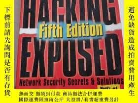 二手書博民逛書店Hacking罕見Exposed: Network Securi