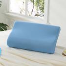 枕頭 / 記憶枕【Microban抗菌素面記憶枕-天空藍】美國抗菌品牌 LAMINA樂米娜台灣製