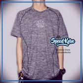 創信 NBA 短袖 短T 勇士 麻灰 胸前LOGO 排汗 涼感 8730216-023【Speedkobe】