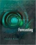 二手書博民逛書店《Elements of Forecasting: With I
