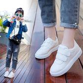 2018夏季韓版新款男童運動女童百搭時尚休閒小白鞋 js1067『科炫3C』