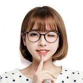 眼鏡框-超輕復古圓框時尚女鏡架3色71t8【巴黎精品】