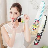 【Disney】可愛圖案造型扁梳/梳子/隨身梳-時尚米妮