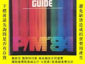 二手書博民逛書店CONFERENCE罕見GUIDE(16開,143頁,1984年