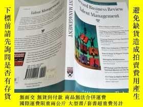 二手書博民逛書店Harvard罕見Business Review on Talent Mgmt (Harvard Business